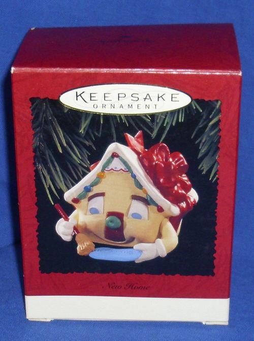 Hallmark Christmas Ornament New Home 1995 House With