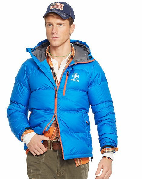 New Polo Ralph Lauren Rlx Men Channel Quilted Down Jacket
