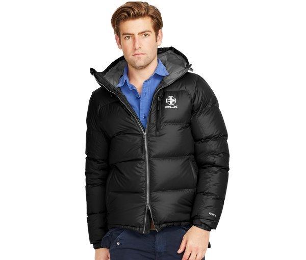 New Polo Ralph Lauren Men RLX Ripstop Black Quilted Trek 650 Fill ... : quilted ralph lauren jacket - Adamdwight.com
