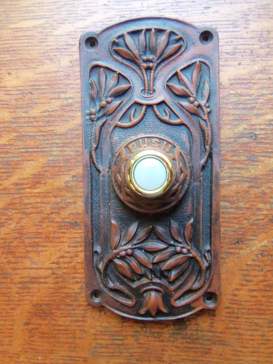 New Victorian Craftsman Eastlake Quot Olive Tree Quot Doorbell