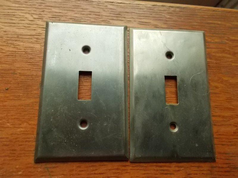 tripple toggle Mission Pacifica Switch Plate
