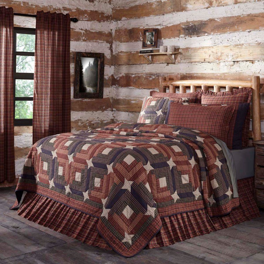 you choose size and accessories VHC Ozark Quilt /& Accessories