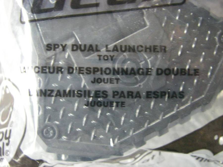 Dual Launcher #1 2013 Spy Gear McDonalds Happy Meal Toy