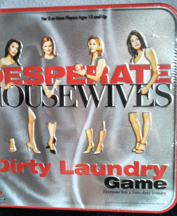 Desperate Housewives Dirty Laundry Brand New /& Sealed in a Tin