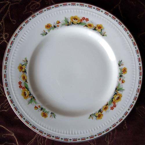 MADDOCK EMBASSY 10 DINNER PLATES Set 5 England EBay