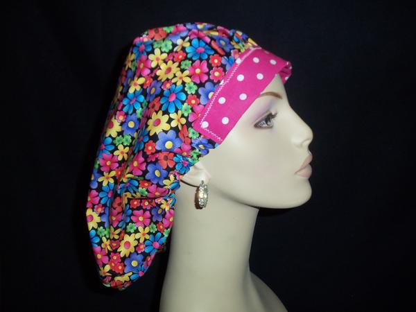Flower Child & Dots Bouffant