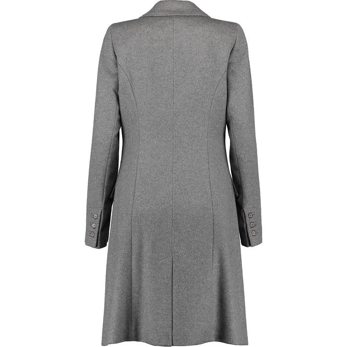 new luxury grey PAUL COSTELLOE BLACK 100% CASHMERE COAT £850 UK14 ...
