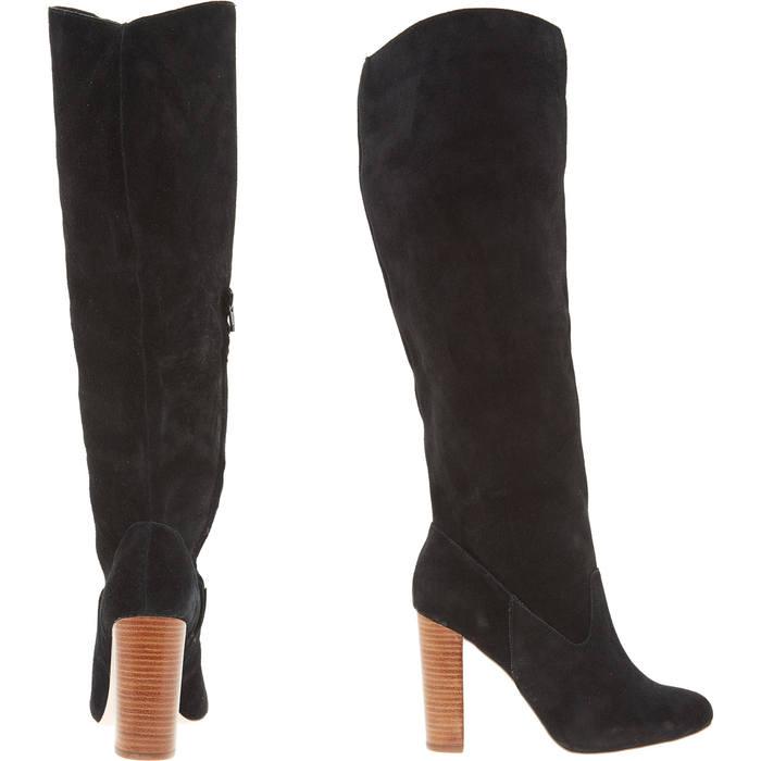 Fablious Fab Ladies High Heel Zip Boots Size 7.5 (eu41)