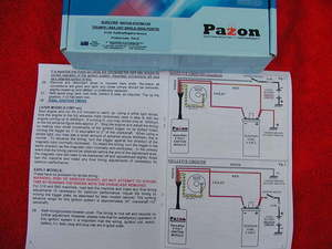 Details about PAZON ELECTRONIC IGNITION 6 volt sidepoints singles BSA on