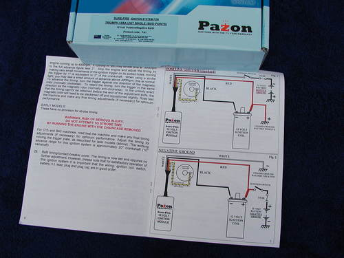 Pazon wiring diagram wiring wiring diagrams instructions pazon 12 volt electronic ignition singles triumph t20 m bsa c15 b25 cheapraybanclubmaster Image collections