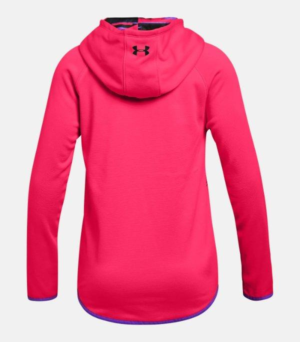 Girl/'s Youth Under Armour Hoodie NEW Size S M XL Pink or Purple Retail $40. L