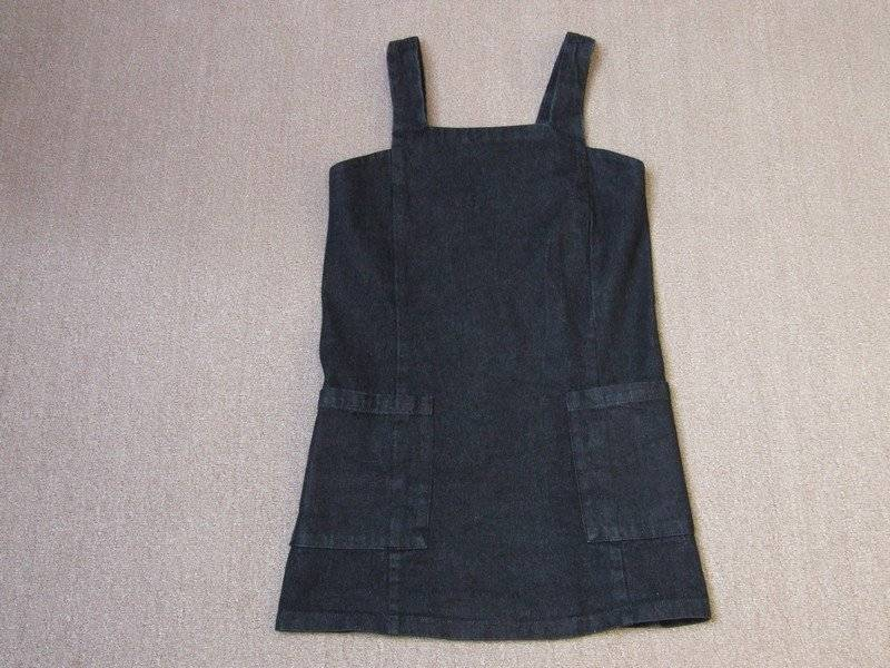 top-rated professional 2019 factory price online sale Details about HEART BREAK CUTE BLACK DENIM PINAFORE DRESS LADIES XS CHEST  32