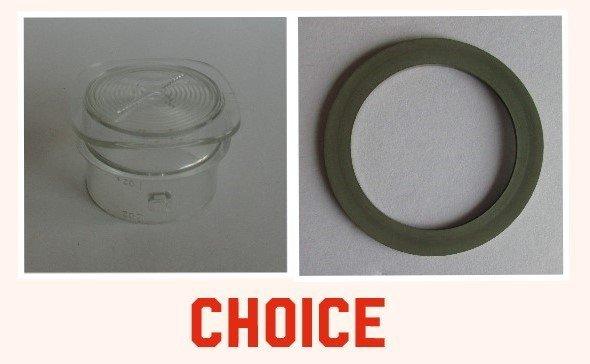2-Pack Replacement Jar Bottom Cap for Oster 6687 BLSTRM DZ0 015 Blender
