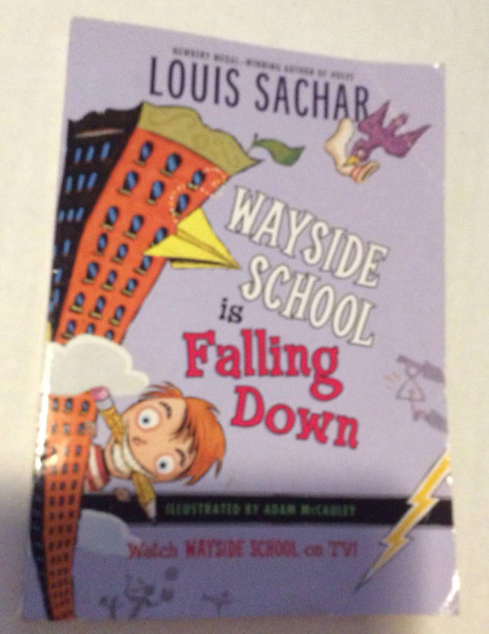 Details About Wayside School Is Falling Down Book Louis Sachar Good Condition