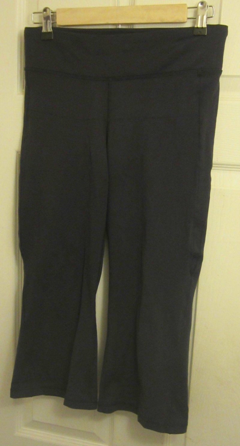 4908ff58f65 LUCY Women's lucypower Stretch Capri Pants Workout Yoga Athletic ...