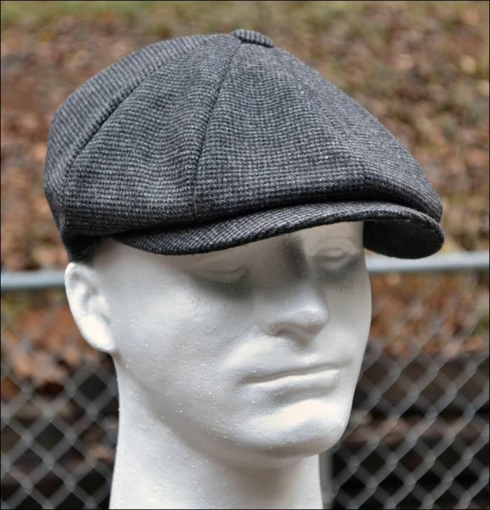 62dbd10a Wool Tweed Newsboy Gatsby Cap Ivy Driving Mens Hat Winter. Flat Cap &  Newspaper Boy Hat Style Guide. A flat cap ...