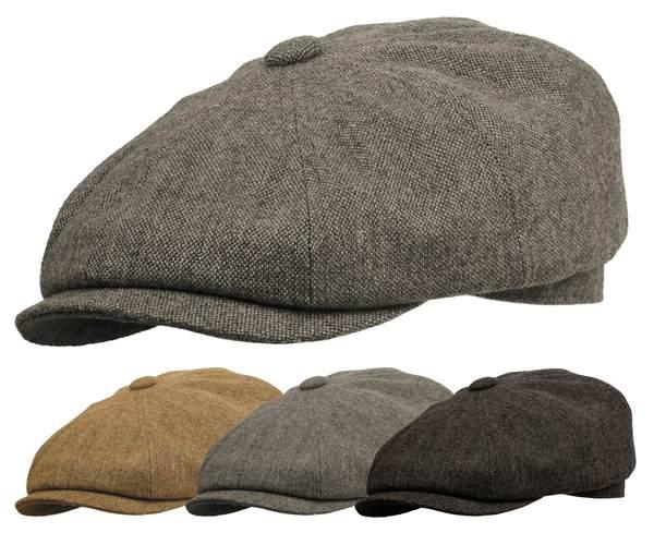 200b07323 Details about ROOSTER WOOL TWEED GATSBY NEWSBOY CAP DRIVING IVY FLAT GOLF  HAT MEN CABBIE IRISH