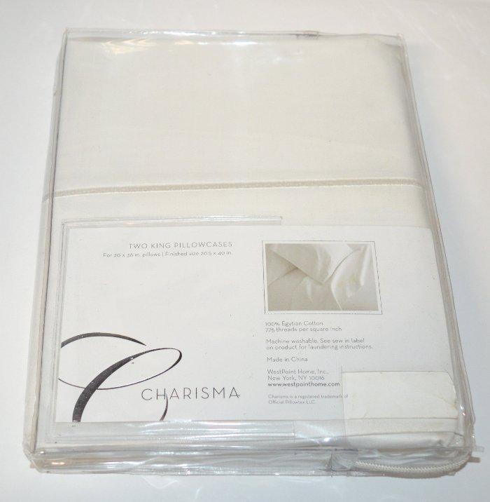 Costco Charisma Sheets White: Charisma Gosford Crystal White Egyptian Cotton King Sheet