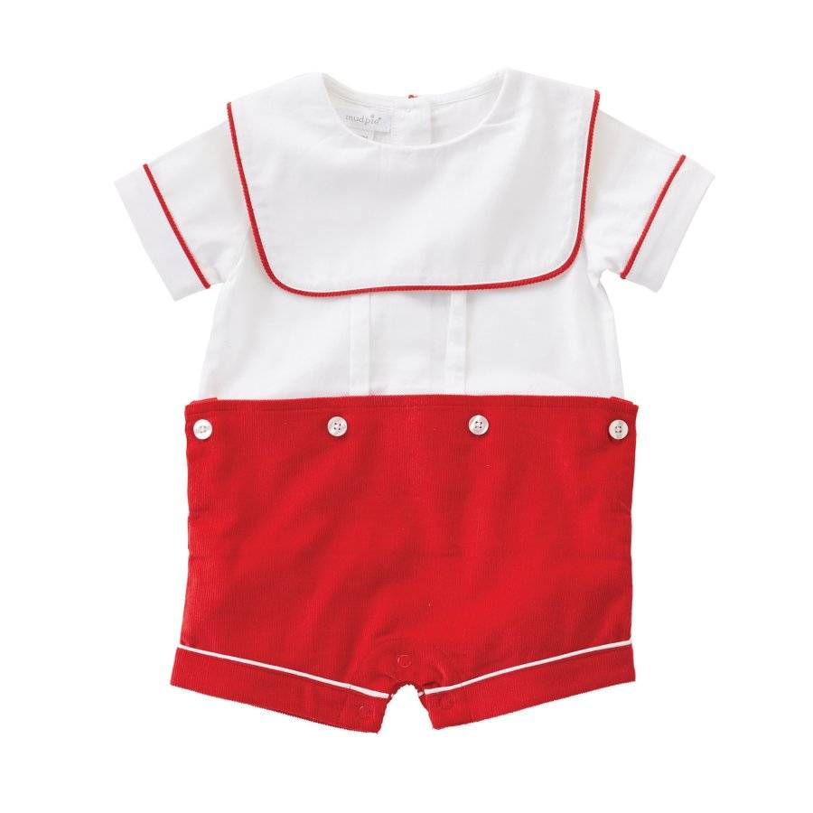 Mud Pie Easter Bunny Pocket Oxford Shortall  0-3M 3-6M 6-9M 9-12M 12-18M