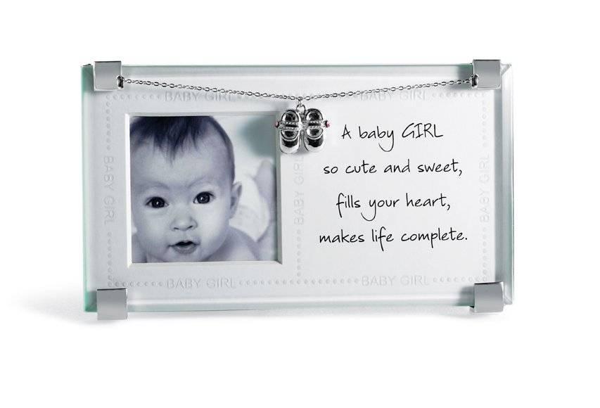 Mud Pie Baby Girl Clip Frame | eBay