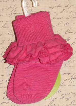 Jefferies Misty Ruffle Socks Newborn Infant Toddler Xs