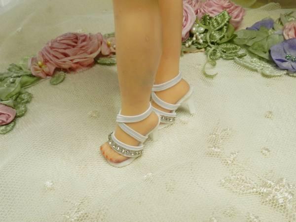 "All Red High Heel Shoes~ Rep Of Org For 10/"" LiL Miss Revlon~V Jill~Miss Ginger"