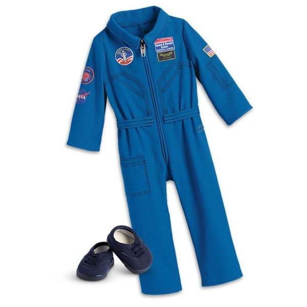 American Girl Luciana/'s Flight Suit Blue NASA NEW in BOX Luciana Vega