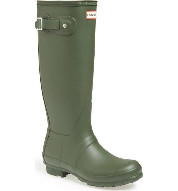 Green Rain Boots For Women