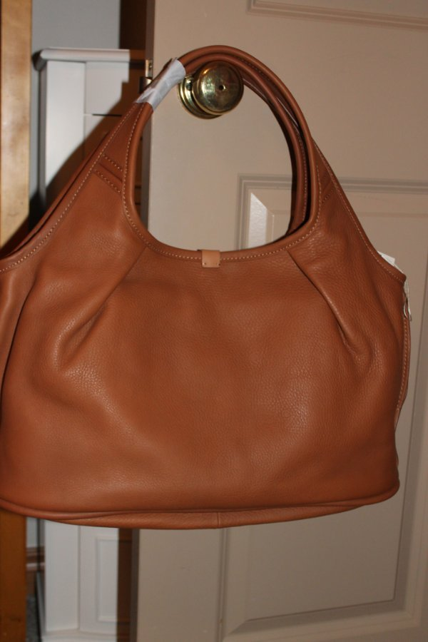 b669a63c7e9 Details about UGG Australia Caramel Tan Classic LEATHER TOTE Hobo BAG  handbag purse