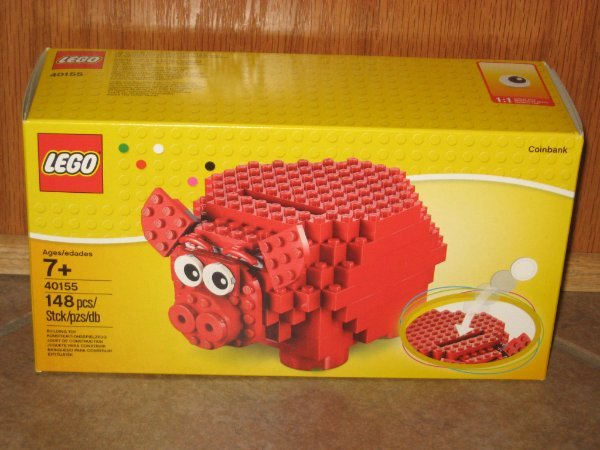 148 pieces NEW in BOX LEGO® 40155 Piggy Bank