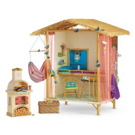 "American Girl LEA/'s seashell shell soap 18/"" doll NEW Lea Clark Rainforest house"