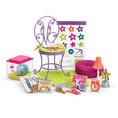 American Girl Mckenna S Loft Bed Set Desk Bedding Bedroom 32 Pc