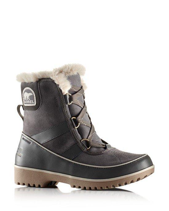 15c10a20cce4 SOREL Tivoli II Quarry Grey WATERPROOF Short BOOTS Womens US 8 8.5 ...