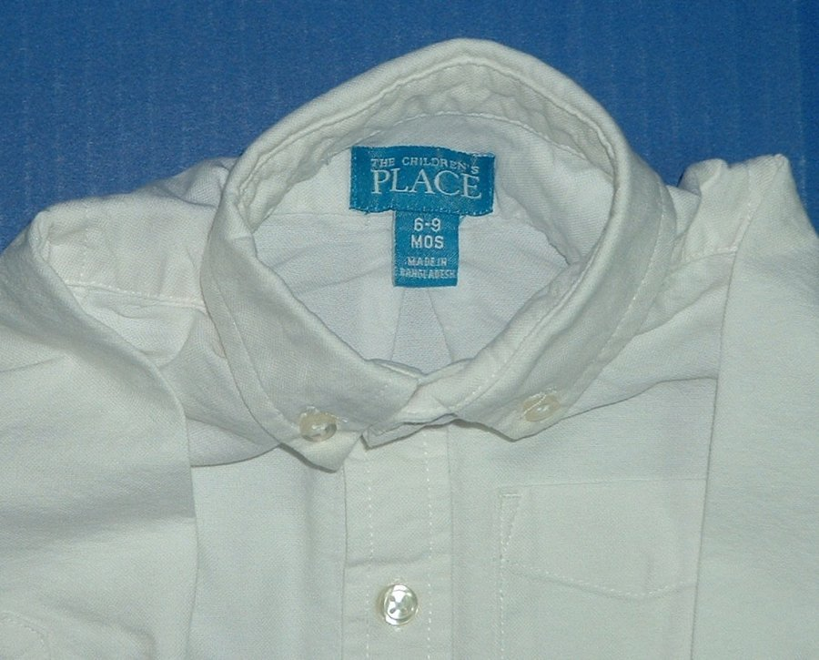 Boys White Dress Shirts Baby Togs 18M