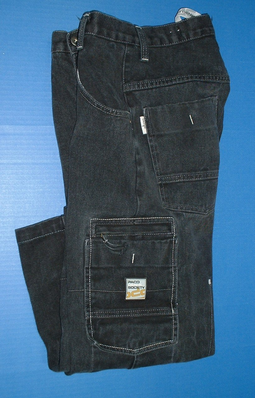 Older Boys Dress Jeans Paco Relaxed 14R Tommy Hilfiger Black Corduroy Jeans 16R