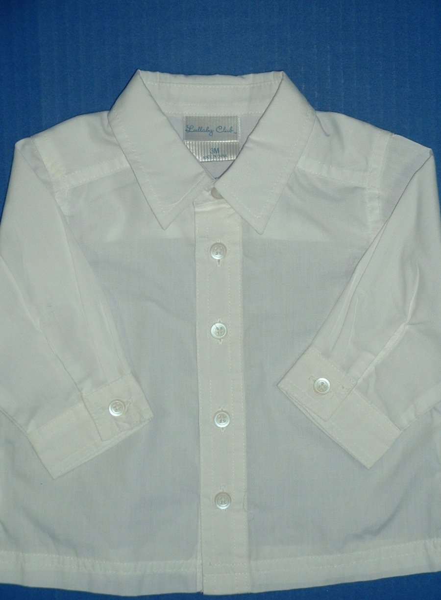 Boys-White-Dress-Shirts-Long-Short-Sleeve-TCP-Happy-Fella-Baby-Togs-Silver-Suit