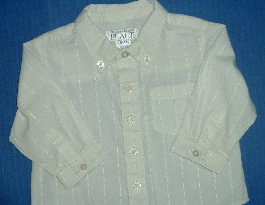 Boys White Dress Shirts Long Short Sleeve TCP Happy Fella