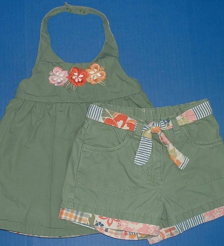 Girls Fall /& Winter 2pc Outfits Peaches n Cream Gymboree PLACE Savannah