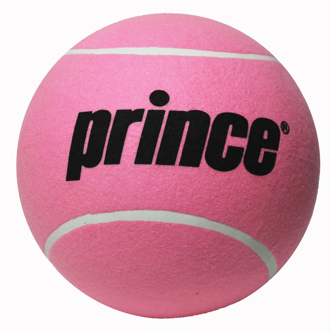 "PRINCE JUMBO TENNIS BALL NEW WITHOUT BOX DEFLATED 9"" (PINK ..."