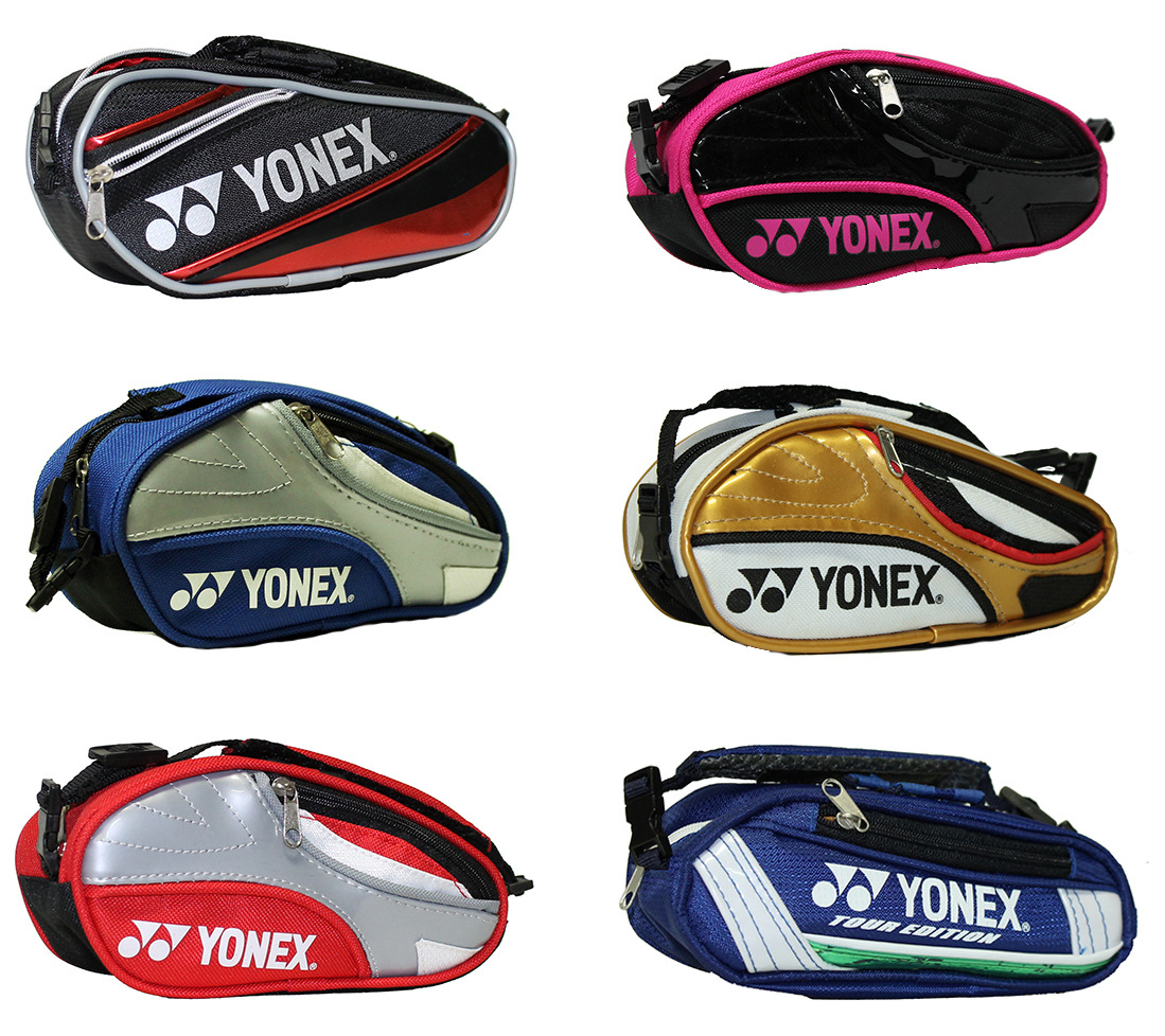 Details about YONEX MINI TENNIS RACQUET BAGS (8026, 9026, 10026) FOR CELL PHONE, CHANGE, GIFTS
