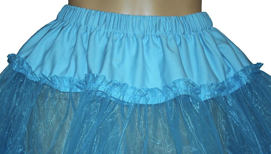 "BLACK Square Dance Crinoline Poodle Skirt Sz M W30/""-45/"""