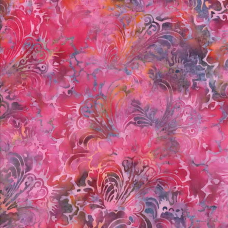 Hoffman Batik Bali Chop Chrysanthemum K2451-587 February Cotton Batik BTY