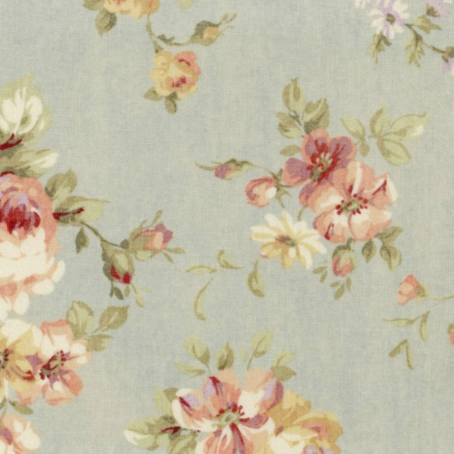 Groovy Details About Cottage Shabby Chic Lecien Durham Quilt Roses Floral 31926L 71 Dusty Blue Bty Download Free Architecture Designs Boapuretrmadebymaigaardcom