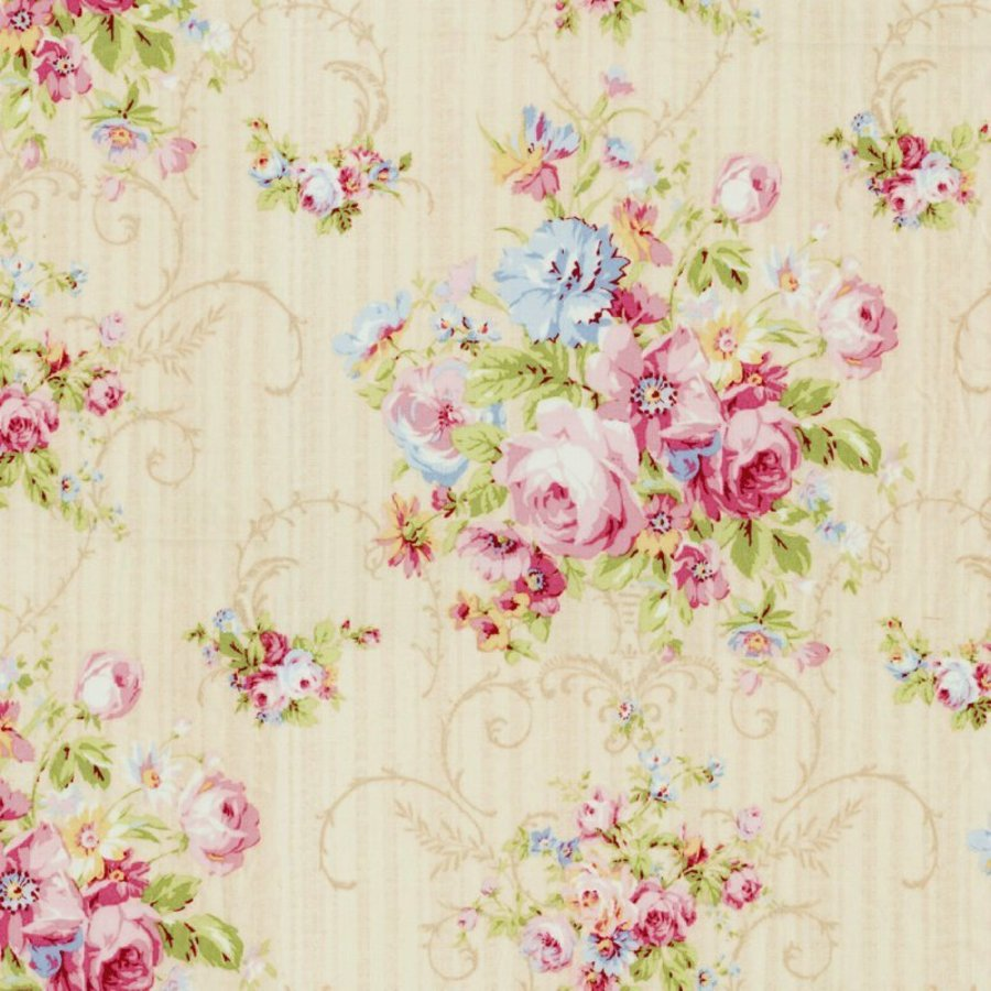 Awesome Details About Cottage Shabby Chic Lecien Rococo Sweet Floral Fabric 31860L 10 Pearl Bty Download Free Architecture Designs Boapuretrmadebymaigaardcom