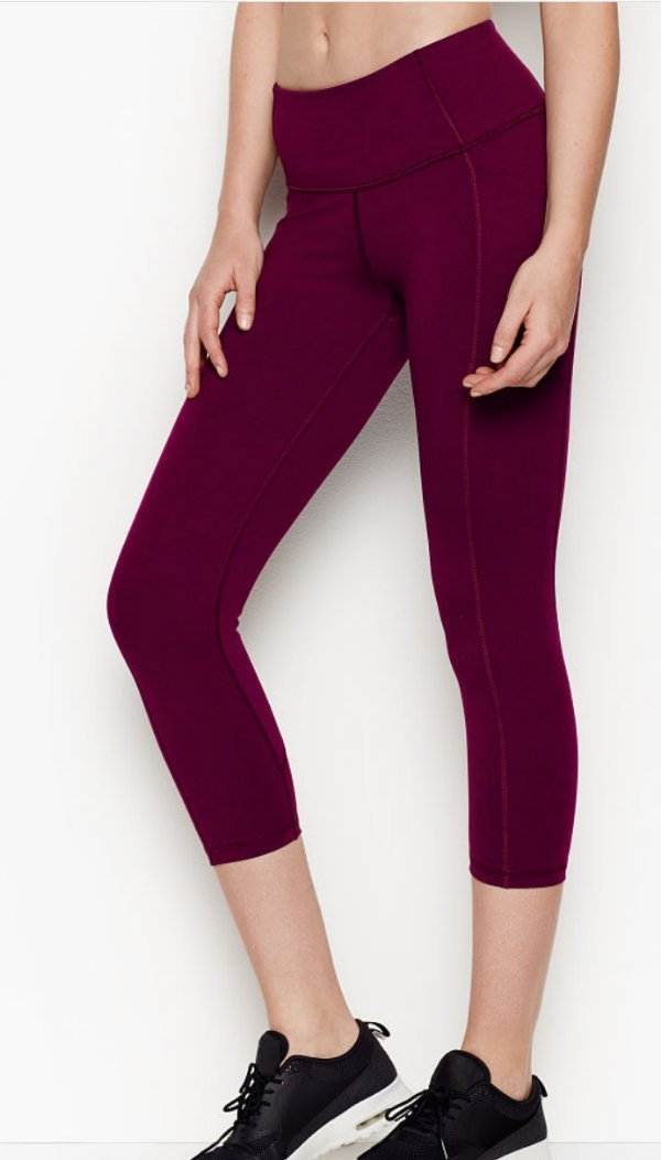 38b54724a8c0f This listing is for capri leggings by Victoria's Secret Sport * They have  never been worn, NO price tags attached * THE INNER LABEL HAS BEEN MARKED  TO ...