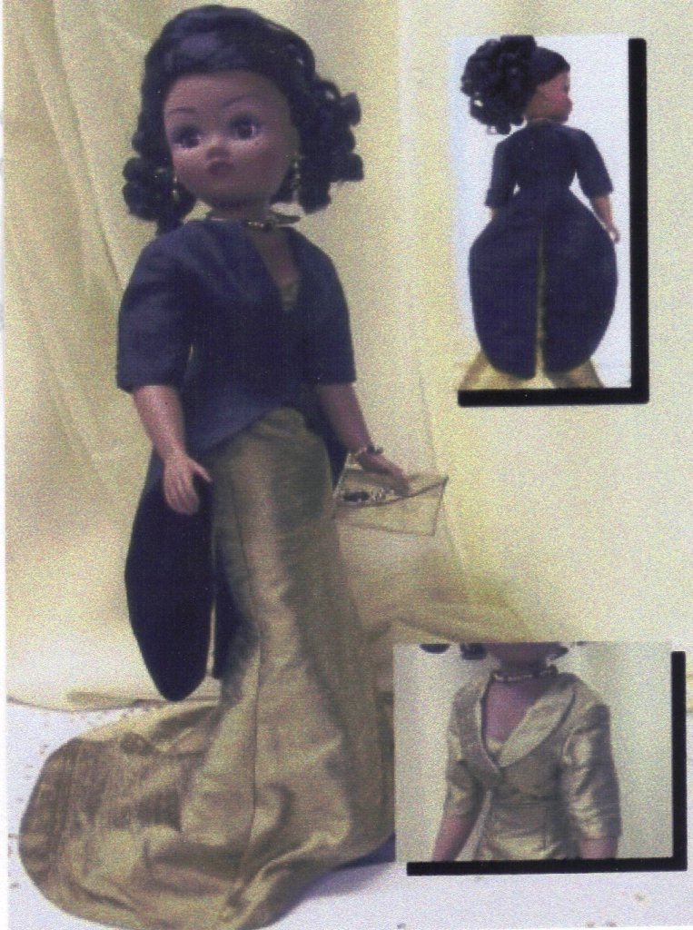 "Classic Suit Doll Clothes Sewing Pattern for 21/"" Madame Alexander Cissy dolls"