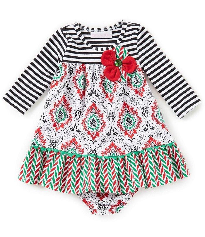 Bonnie Jean Girls Bonaz Turkey Applique Thanksgiving Party Outfit 12M 18M 24M