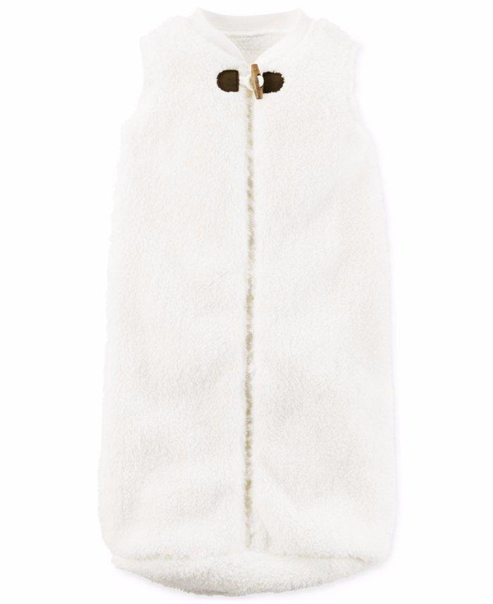 Irresistibly Plush And Snuggly This Sleeveless Faux Sherpa Sleepbag From Carter S Is A Cuddly Choice For Naptime