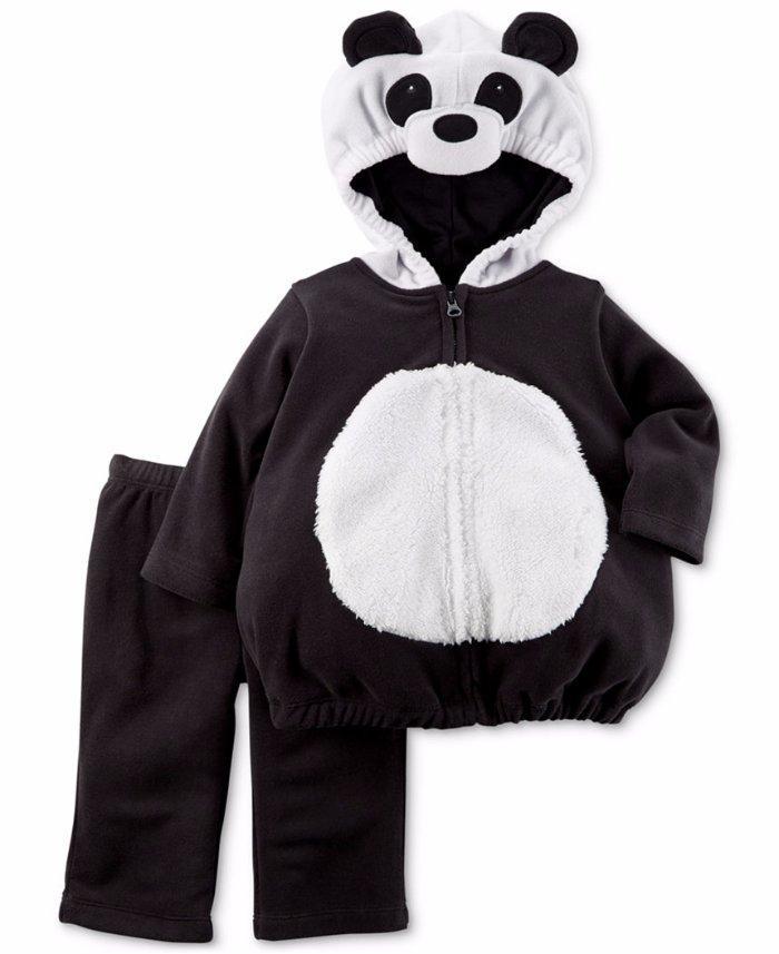 carter 39 s baby 3 6m 6 9m panda bear 2 pc halloween costume nwt ebay. Black Bedroom Furniture Sets. Home Design Ideas