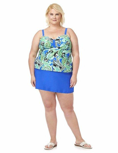 Details about CATHERINE\'S® Plus Size 18W, 20W Tortuga Bay Swimdress NWT